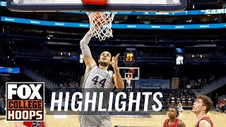 Georgetown dominates Samford for fifth straight win, 99-71 | FOX COLLEGE HOOPS HIGHLIGHTS