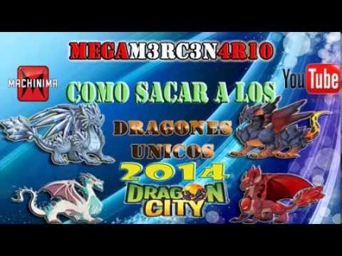 COMO CONSEGUIR A TODOS LOS DRAGONES UNICOS 100% 2014 ACTUALIZADO DRAGON CITY