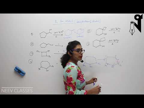 Dehydration of Alcohol E1 2/2