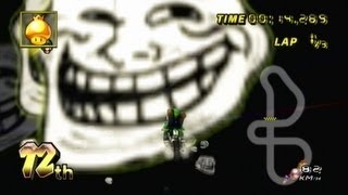 Mario Kart Wii - The best way to troll glitchers!
