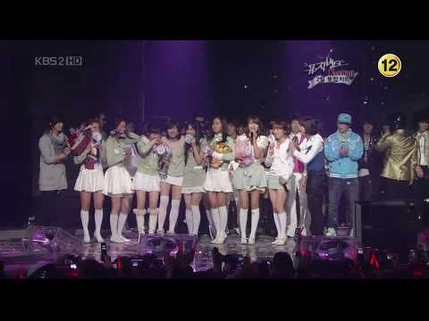 Hd Snsd 080229 Kissing You + Win No.1 Crying video