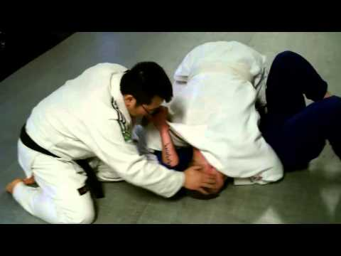 Zack vs Paul - Grappling/Rolling session at Fusion Mixed Martial Arts Image 1