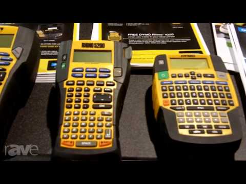 CEDIA 2013: Release Your Inner OCD with DYMO's 4200, 5200 and 6000 Label Makers