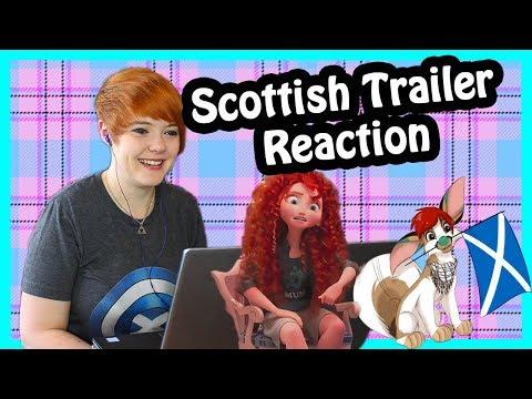 Wreck it Ralph 2 Trailer (Merida Scene) Scottish Reaction