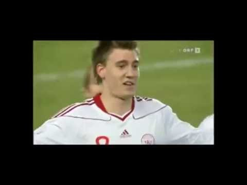 Nicklas Bendtner All Goals For Denmark