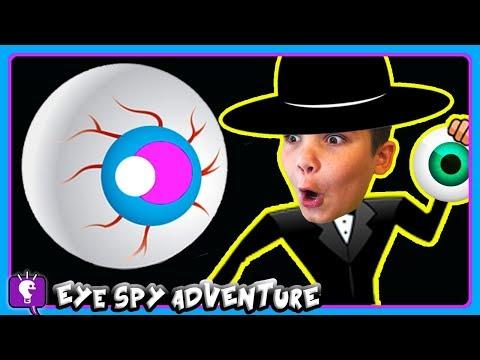 GIANT HobbySpy EYE Adventure! Part #3 With By HobbyKidsTV