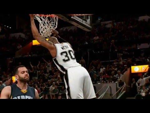 Best of Phantom: San Antonio Spurs vs Memphis Grizzlies Game 2