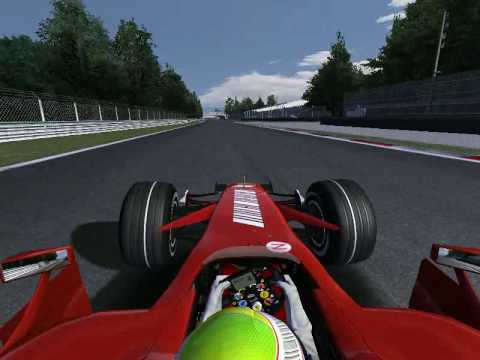 WF1 2009 Liga Round 12 Monza - Ferrari Team Orders