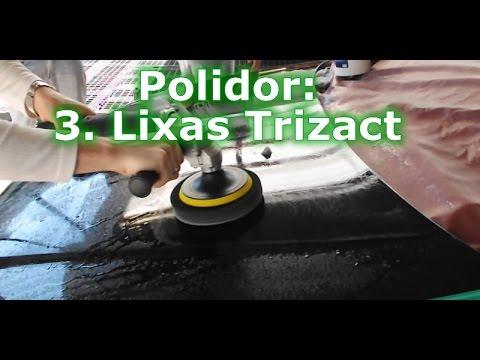 3. Como Polir Carros Disco de Lixa Trizact P3000 P5000 3M Como Usar Lixas para Polimento