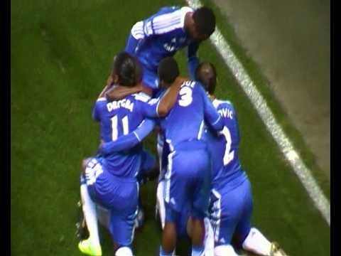 CHELSEA - EVERTON. Saturday 11, October, 2011 John Terry goal!!!!