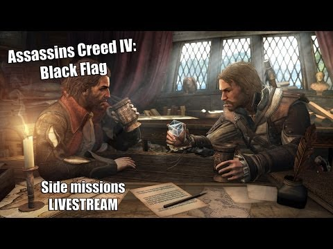 ELION 100Mbit/s Upload LIVESTREAM - AC IV: Black Flag - Osa 14. Sidemissionid! (PC) (1080p) HD!