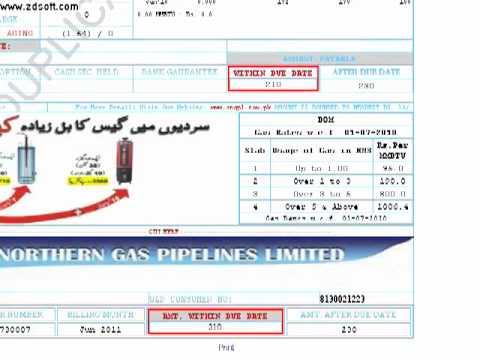 azakhel payan see online ur sui northern gas old & new bills