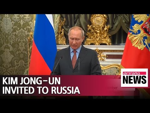 Sign me up after Kim! Putin says he is happy to meet Trump