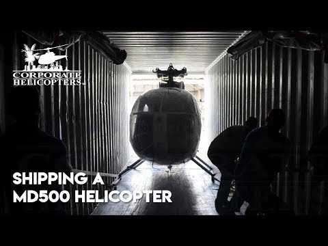 Shipping a Helicopter MD500