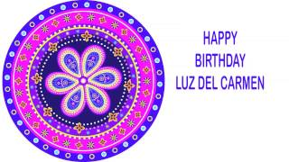 Luz del Carmen   Indian Designs - Happy Birthday