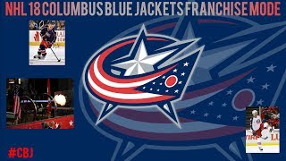 NHL 18 COLUMBUS BLUE JACKETS FRANCHISE MODE EPISODE 21: ANOTHER TRIP TO THE STANLEY CUP!