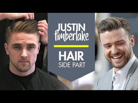 How to Style Your Hair Like Justin Timberlake   New Short Men's Hairstyle   By Vilain