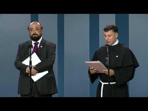Embajador de Colombia ante la Santa Sede y el Fraile de la Basílica Papal de Italia, Enzo Fortunato