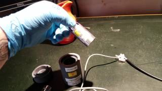 Nucleonic Corp of America DM1D Geiger counter + CDV 700 pickle probe demo