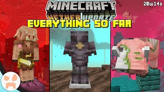 Everything in the Minecraft 1.16 Nether Update SO FAR!