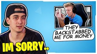 TFUE REVEALS WHY HE SPLIT WITH CLOAKZY & 72HRS! *NOT CLICKBAIT*