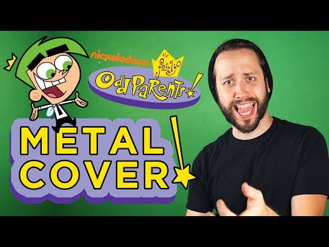 FAIRLY ODDPARENTS - Opening Theme (Metal/Rock cover by Jonathan Young & ToxicXEternity)