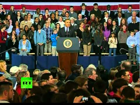Video: OWS protesters interrupt Obama's speech