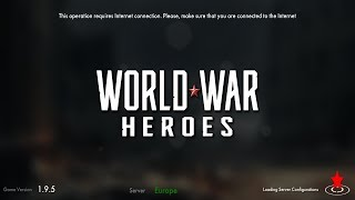 World War Heroes: FPS war game [Online Game]- Android/iOS Gameplay