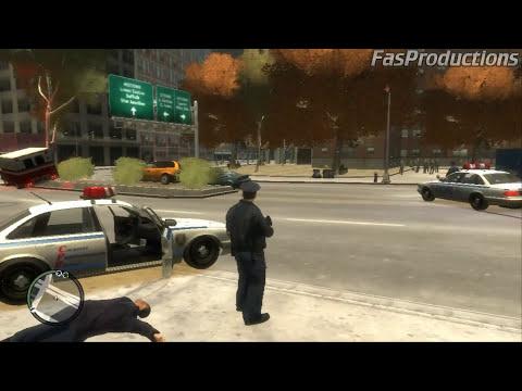 GTA IV - COPS - POLICES VS GANGSTERS - DIA 1