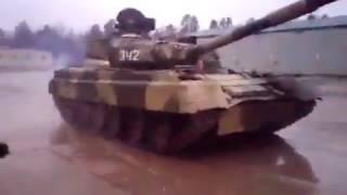 Русский танковый дрифт. С огоньком!