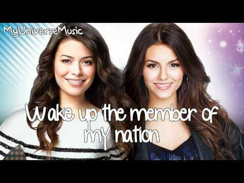 Victorious & Icarly Cast - Leave It All To Shine (lyrics Video) video