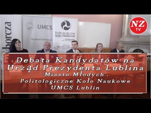 Naszym Zdaniem TV - O Co Chodzi? Debata Kandydatów Na Prezydenta Lublina 09.10.2018
