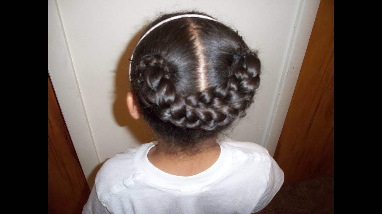 Braided Hairstyles For Kids  YouTube - Cute Easy Fast Hairstyles