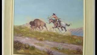 Native American Music +Paintings by Native American Painters