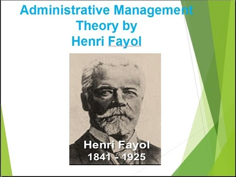 henry fayol father of modern management