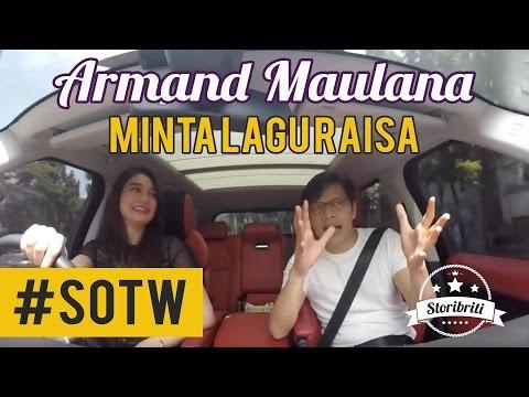 Selebriti On The Way Luna Maya & Armand Maulana #5: Minta lagu Raisa