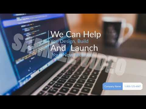 Web Developer Business Promotion Ads