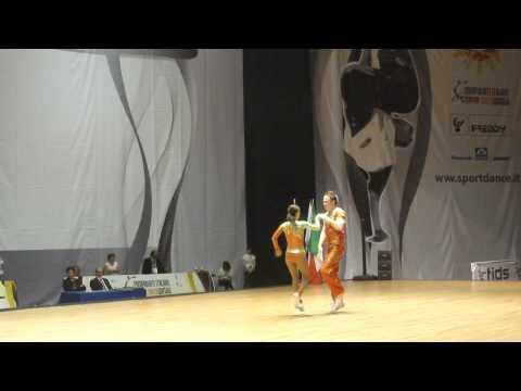 Sandra Chudomska & Vitezslav Horak - World Masters Rimini 2012