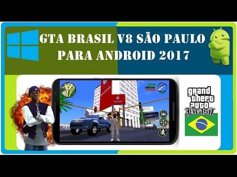 Gta sa Brasil V8 Modificado (São Paulo) Mods BR, Android 7.0 N/8.0 O Review / Especificações