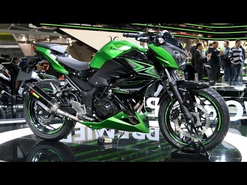 Kawasaki Z300 y Z250SL 2015