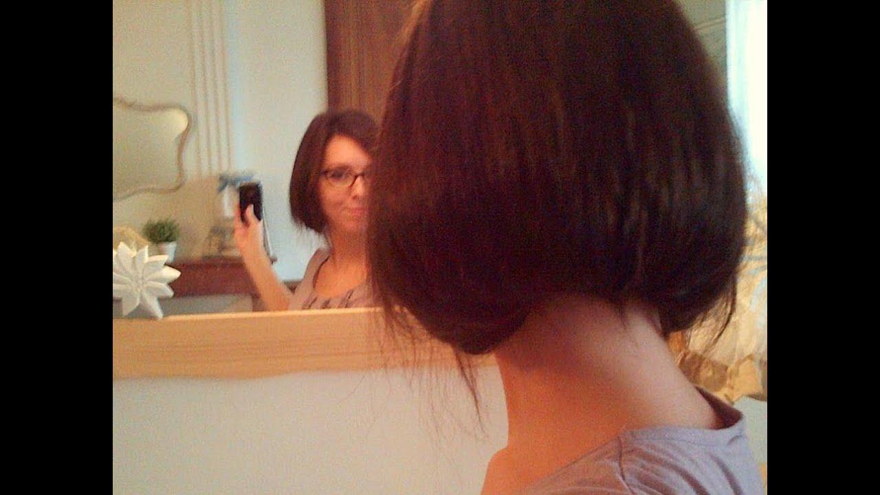 Comment se faire un faux carr avec des cheveux longs - Comment couper des parties d une video ...