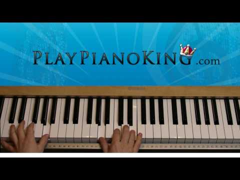 how to play the scientist on piano tutorial