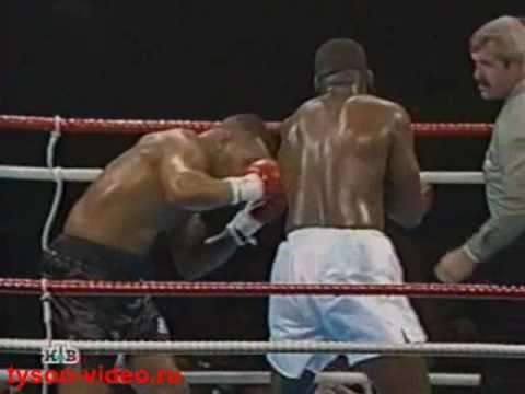 """Майк Тайсон - Джеймс Даглас 38 (4) Mike Tyson vs James """"Buster"""" Douglas"""