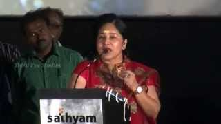 Kovai Sarala Comedy @ Thunai Mudhalvar Movie Audio Launch | Meena | Radhika | Parthiban | Bhagyaraj