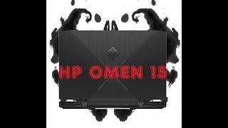 Обзор ноутбука HP OMEN 15