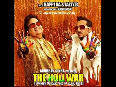 Jazzy B Bappi Lahiri New Song 2013 The Holi War Mrtamna04 video