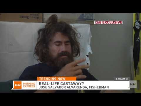 Castaway claims he drifted 13 months in Pacific