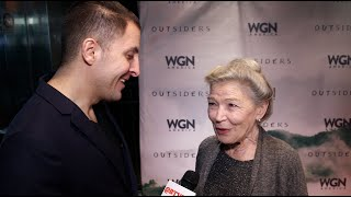 Phyllis Somerville At Outsiders Red Carpet At Nytvf With Arthur Kade