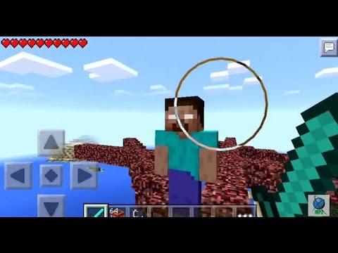 Minecraft PE | How to Spawn the Herobrine