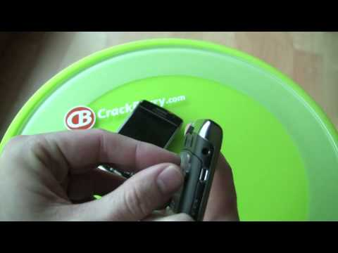BlackBerry Bold 9700 - Easy Battery Door Removal